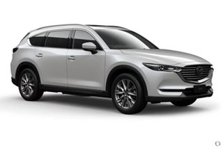2020 Mazda CX-8 KG2W2A GT SKYACTIV-Drive FWD White 6 Speed Sports Automatic Wagon.