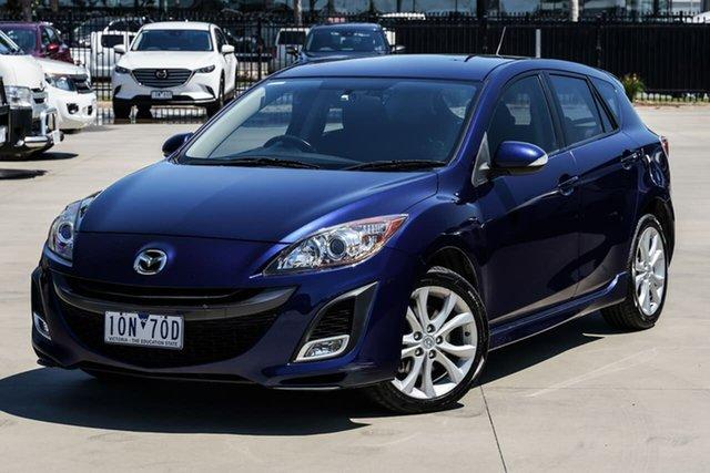 Used Mazda 3 BL10L1 SP25 Activematic Narre Warren, 2009 Mazda 3 BL10L1 SP25 Activematic Blue 5 Speed Sports Automatic Hatchback