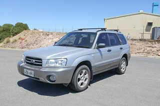 2003 Subaru Forester 79V MY03 X AWD Silver 5 Speed Manual Wagon