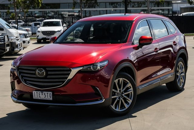 Used Mazda CX-9 TC Azami SKYACTIV-Drive i-ACTIV AWD Narre Warren, 2018 Mazda CX-9 TC Azami SKYACTIV-Drive i-ACTIV AWD Red 6 Speed Sports Automatic Wagon