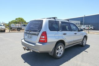 2003 Subaru Forester 79V MY03 X AWD Silver 5 Speed Manual Wagon.