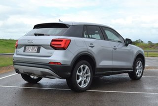 2018 Audi Q2 GA MY18 design S Tronic Silver 7 Speed Sports Automatic Dual Clutch Wagon.
