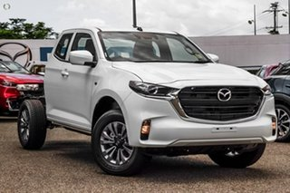 2020 Mazda BT-50 TFS40J XT Freestyle White 6 Speed Manual Cab Chassis.