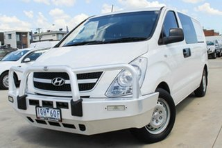 2015 Hyundai iLOAD TQ2-V MY15 White 5 Speed Automatic Van.