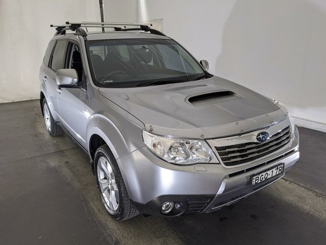 Used Subaru Forester S3 MY09 XT AWD Maryville, 2008 Subaru Forester S3 MY09 XT AWD Silver 4 Speed Sports Automatic Wagon