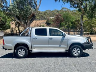 2010 Toyota Hilux KUN26R MY10 SR5 Silver 5 Speed Manual Utility