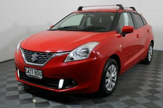 2016 Suzuki Baleno EW GL Red 4 Speed Automatic Hatchback