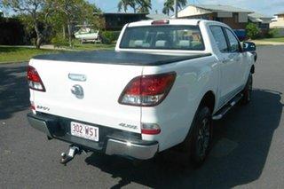 2016 Mazda BT-50 UR0YG1 XTR White 6 Speed Manual Utility.