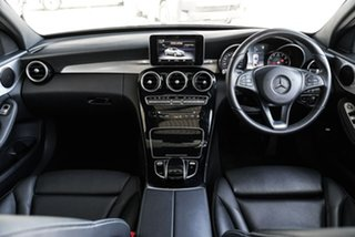 2017 Mercedes-Benz C-Class W205 808MY C200 9G-Tronic Blue 9 Speed Sports Automatic Sedan.