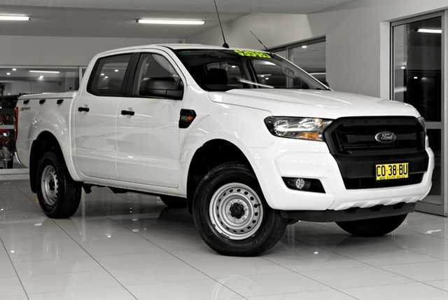 Used Ford Ranger PX MkII 2018.00MY XL Hi-Rider Waitara, 2017 Ford Ranger PX MkII 2018.00MY XL Hi-Rider White 6 Speed Sports Automatic Utility
