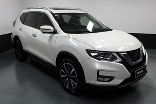 2017 Nissan X-Trail T32 Series II TL X-tronic 4WD White 7 Speed Constant Variable Wagon.