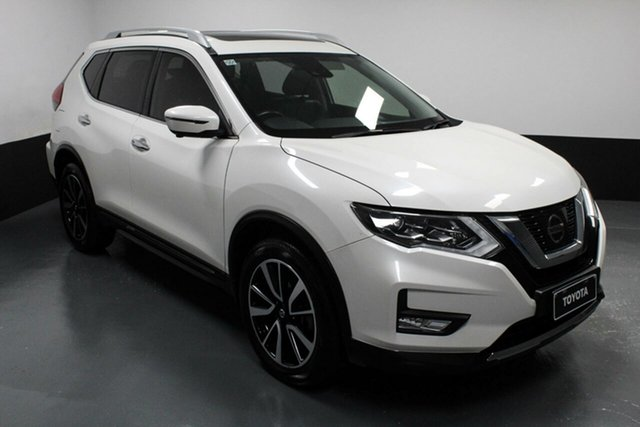 Used Nissan X-Trail T32 Series II TL X-tronic 4WD Cardiff, 2017 Nissan X-Trail T32 Series II TL X-tronic 4WD White 7 Speed Constant Variable Wagon