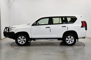 2018 Toyota Landcruiser Prado GDJ150R GX White 6 Speed Sports Automatic Wagon.