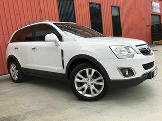 2014 Holden Captiva CG MY14 5 AWD LTZ White 6 Speed Sports Automatic Wagon.