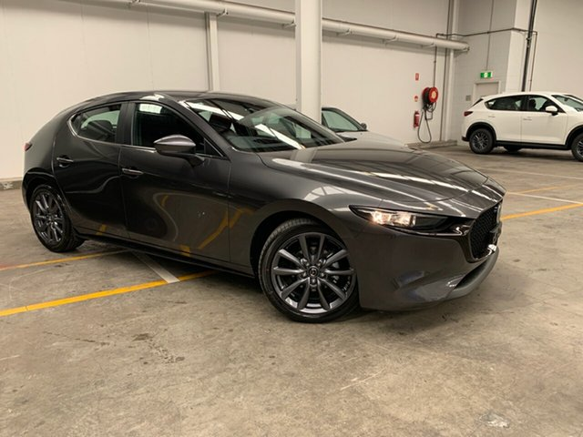 New Mazda 3 BP2H7A G20 SKYACTIV-Drive Evolve Alexandria, 2020 Mazda 3 BP2H7A G20 SKYACTIV-Drive Evolve Machine Grey 6 Speed Sports Automatic Hatchback