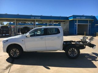 2020 Mazda BT-50 TFS40J XT Ice White 6 Speed Sports Automatic Cab Chassis
