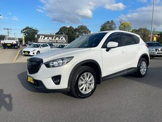 2012 Mazda CX-5 Maxx - Sport White Sports Automatic Wagon