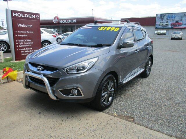 Used Hyundai ix35 LM3 MY14 Trophy North Rockhampton, 2014 Hyundai ix35 LM3 MY14 Trophy Grey 6 Speed Manual Wagon