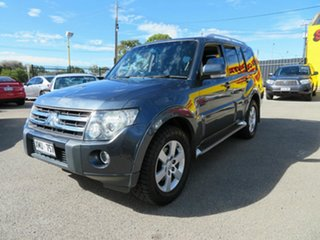 2007 Mitsubishi Pajero NS VR-X LWB (4x4) Silver 5 Speed Auto Sports Mode Wagon.