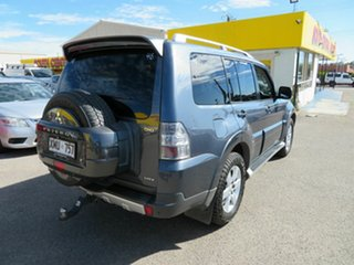 2007 Mitsubishi Pajero NS VR-X LWB (4x4) Silver 5 Speed Auto Sports Mode Wagon