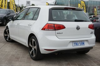 2013 Volkswagen Golf VII 90TSI Comfortline White 6 Speed Manual Hatchback