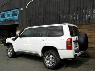 2006 Nissan Patrol GU IV MY05 ST-S White 4 Speed Automatic Wagon