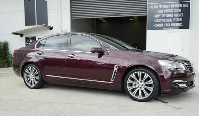 Used Holden Calais VF II MY16 V Capalaba, 2015 Holden Calais VF II MY16 V Purple 6 Speed Sports Automatic Sedan