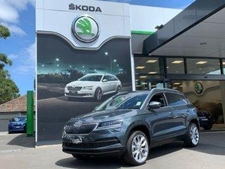2020 Skoda Karoq NU MY21 110TSI FWD Grey 8 Speed Automatic Wagon.