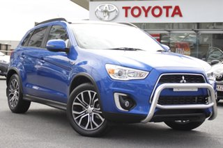 2016 Mitsubishi ASX XC MY17 XLS 2WD Blue 6 Speed Constant Variable Wagon.