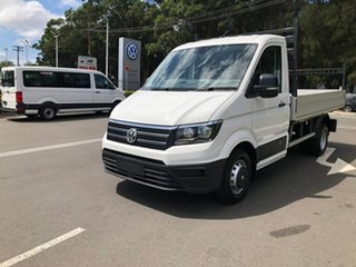 2020 Volkswagen Crafter SY1 MY20 50 MWB TDI410 White 8 Speed Automatic Cab Chassis.