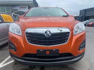 2014 Holden Trax TJ MY14 LS Orange 6 Speed Automatic Wagon.