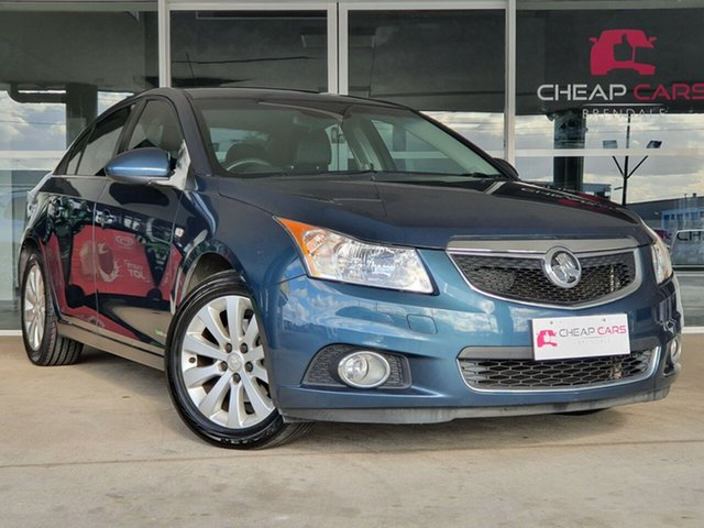 Used Holden Cruze JH Series II MY12 CDX Brendale, 2012 Holden Cruze JH Series II MY12 CDX Blue 6 Speed Sports Automatic Sedan