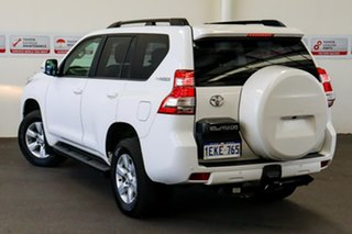 2013 Toyota Landcruiser Prado KDJ150R MY14 GXL (4x4) Glacier White 5 Speed Sequential Auto Wagon.