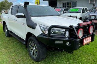 2020 Toyota Hilux GUN126R SR5 Double Cab White 6 Speed Sports Automatic Utility.