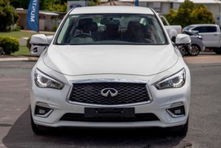 2019 Infiniti Q50 V37 Pure Moonlight White 7 Speed Sports Automatic Sedan