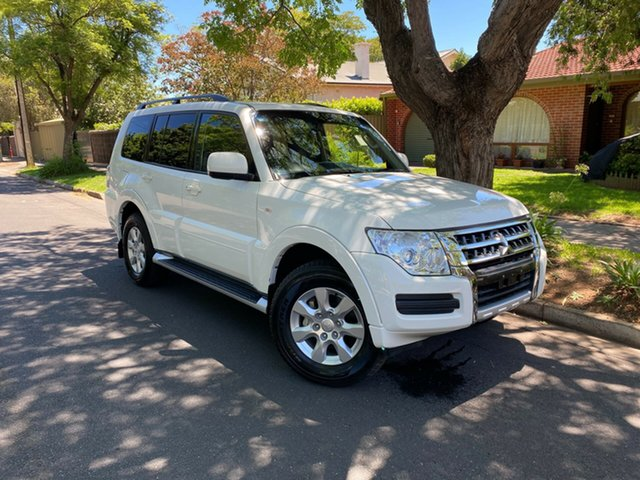 Pre-Owned Mitsubishi Pajero NX MY15 GLX Hawthorn, 2015 Mitsubishi Pajero NX MY15 GLX White 5 Speed Sports Automatic Wagon