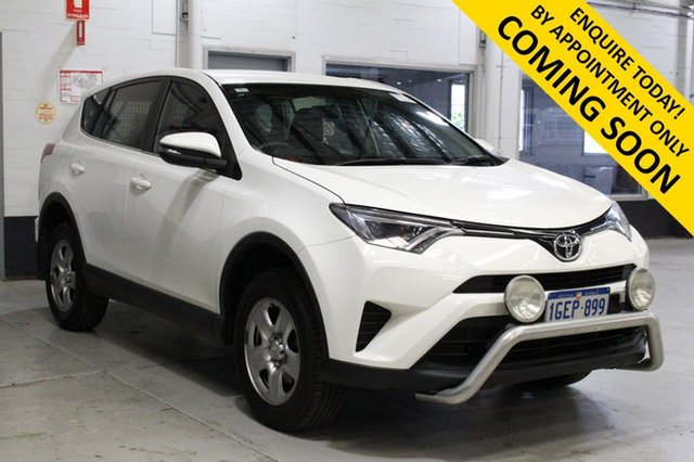 Used Toyota RAV4 ZSA42R MY17 GX (2WD) Bentley, 2016 Toyota RAV4 ZSA42R MY17 GX (2WD) White Continuous Variable Wagon