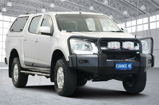 2014 Holden Colorado RG MY15 LT Crew Cab Silver 6 Speed Sports Automatic Utility.