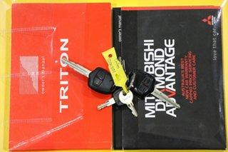 2011 Mitsubishi Triton MN MY11 GL-R (4x4) White 5 Speed Manual Double Cab Utility