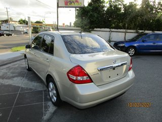 2010 Nissan Tiida C11 MY07 ST Gold 4 Speed Automatic Sedan