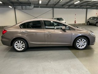 2013 Honda Civic 9th Gen Ser II VTi-LN Bronze 5 Speed Sports Automatic Sedan.