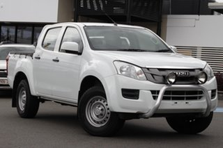 2015 Isuzu D-MAX MY15 SX Crew Cab 4x2 High Ride White 5 Speed Sports Automatic Utility.