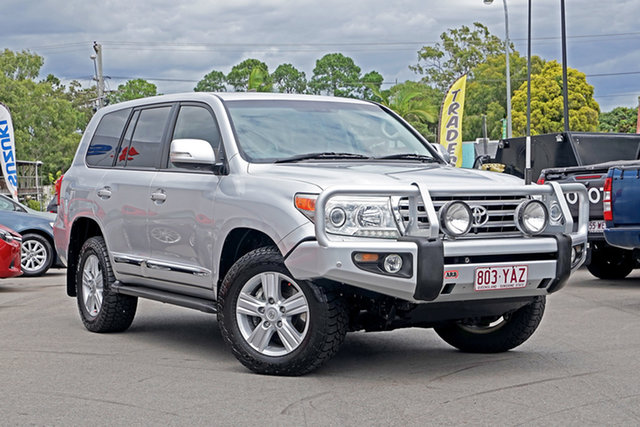 Used Toyota Landcruiser VDJ200R MY12 Sahara Chandler, 2013 Toyota Landcruiser VDJ200R MY12 Sahara Silver 6 Speed Sports Automatic Wagon