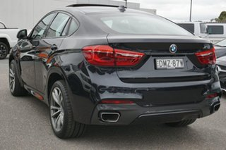 2017 BMW X6 F16 xDrive30d Coupe Steptronic Black 8 Speed Sports Automatic Wagon