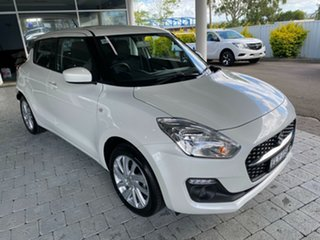 2020 Suzuki Swift GL Navigator Pure White Pearl Constant Variable Hatchback