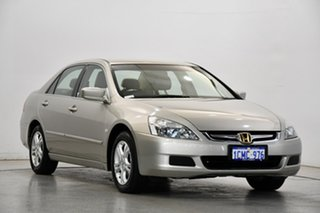 2007 Honda Accord 7th Gen MY07 VTi-L Gold 5 Speed Automatic Sedan