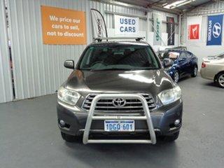 2010 Toyota Kluger GSU45R MY11 Grande AWD Grey 5 Speed Sports Automatic Wagon.
