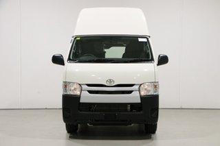 2019 Toyota HiAce KDH201R MY16 LWB White 4 Speed Automatic Van.