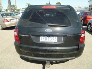 2010 Ford Territory SY MkII TX AWD Black 6 Speed Sports Automatic Wagon