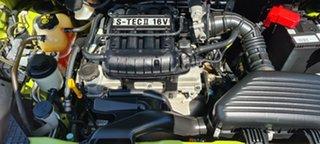 2010 Holden Barina Spark MJ MY11 CD Green 5 Speed Manual Hatchback.